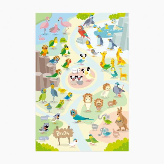 ポストカード(BIRD ZOO)