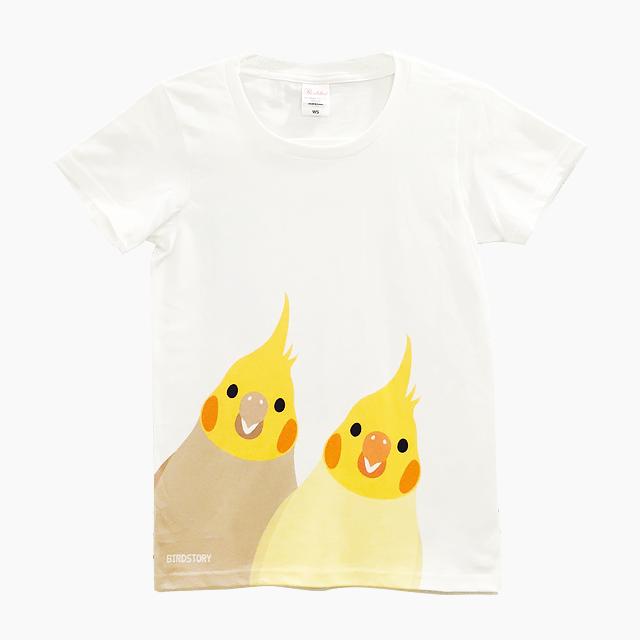 SMILE BIRD Tシャツ(オカメインコ)