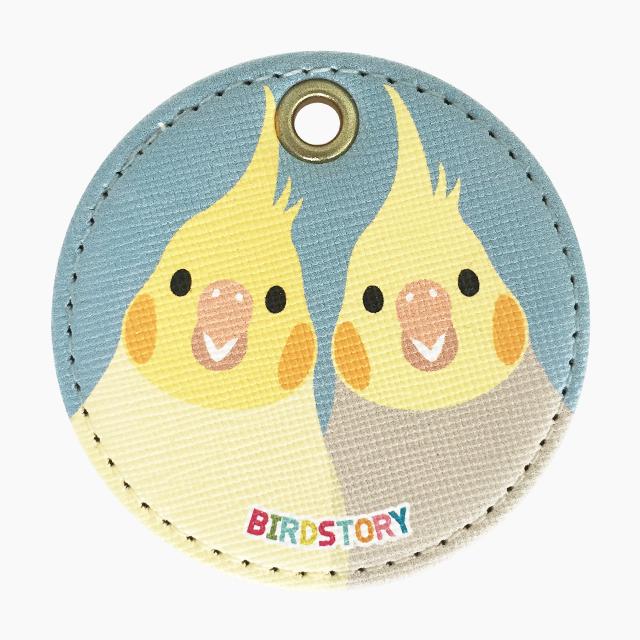 SMILE BIRD キーホルダー(オカメインコ)