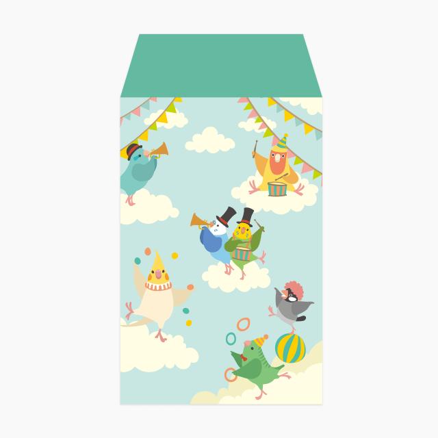 BIRD SKY CIRCUS ポチ袋
