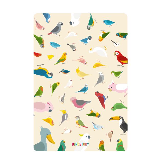 BIRD!BIRD!BIRD! パスケース