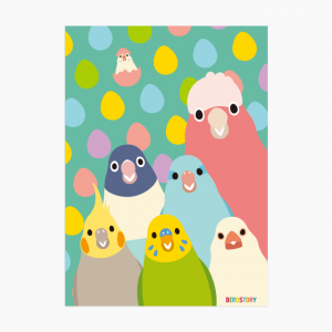 SMILEBIRD A4クリアファイル