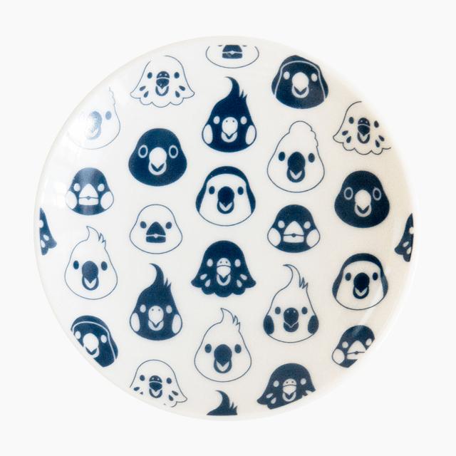 ことりの豆皿(A)