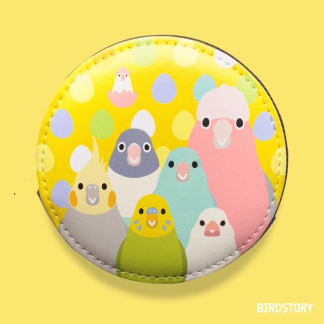 SMILE BIRD コインケース(オレンジ)