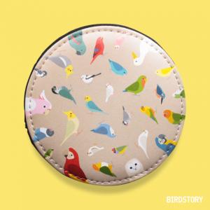 BIRD!BIRD!BIRD! コインケース(ブラウン)