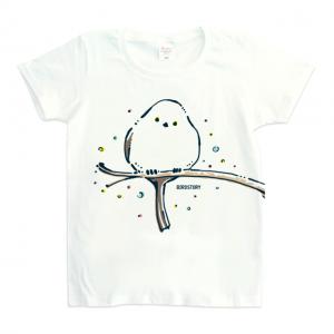 シマエナガ Tシャツ