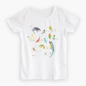Natural Bird Tシャツ