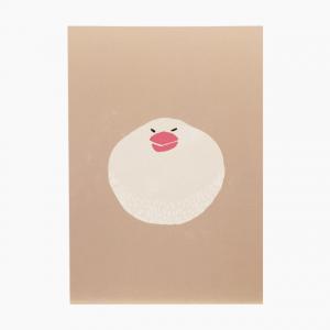 ポストカード(白文鳥)