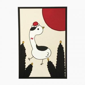 花札シリーズ(松)ポストカード