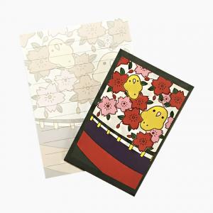 ミニレターセット(花札・桜)