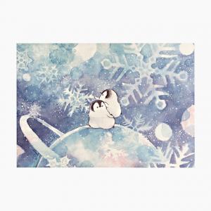 もこぺんメモ帳(銀河雪)