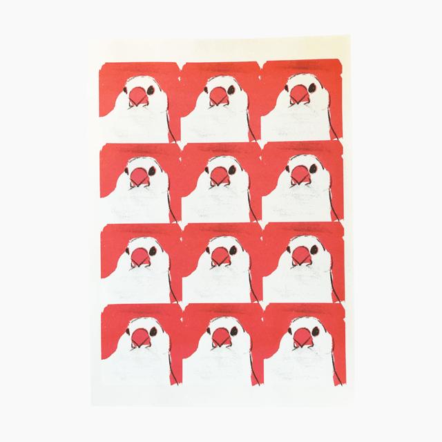 文鳥 レターセット