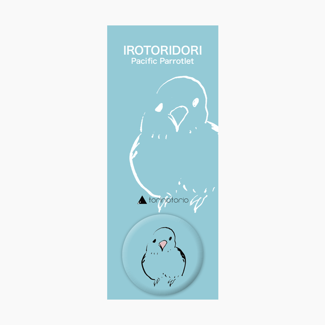 IROTORIDORI 缶バッジ(マメルリハ)