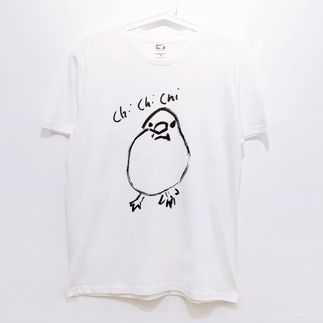 Chi Chi Chi 文鳥Tシャツ