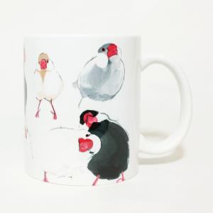 文鳥 マグカップ
