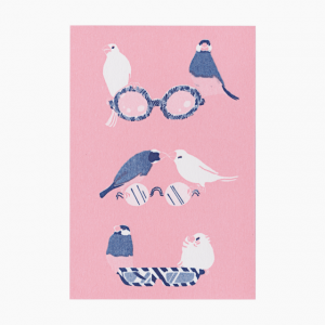 ポストカード(眼鏡)