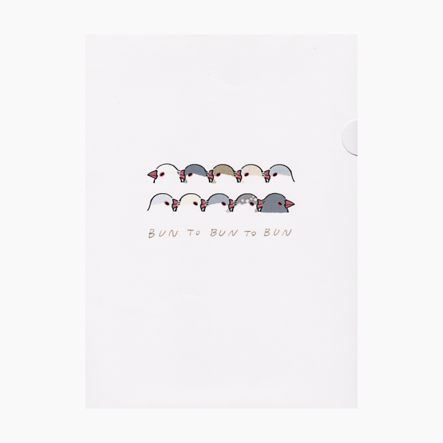 ペーパーファイル(いろいろ文鳥)