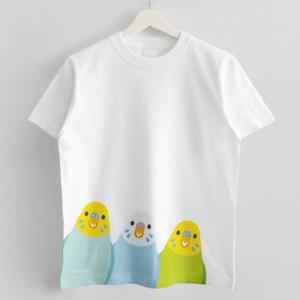 SMILE BIRD Tシャツ セキセイインコ