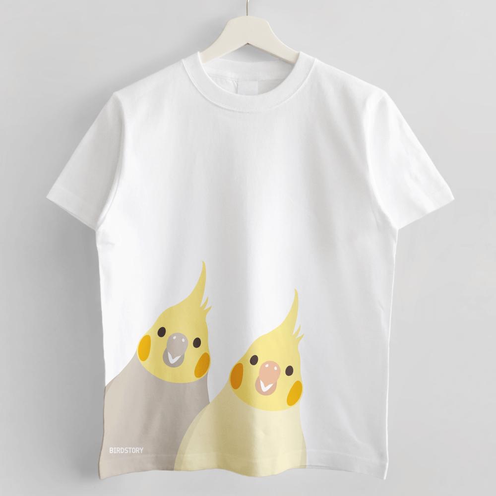 SMILE BIRD Tシャツ オカメインコ