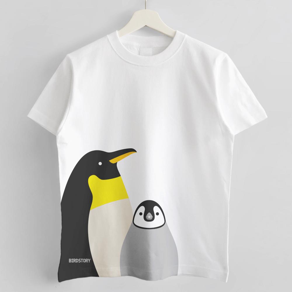 SMILE BIRD Tシャツ コウテイペンギン