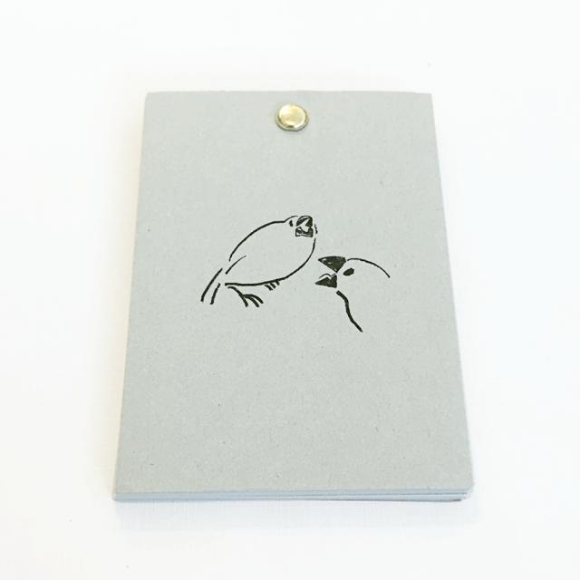 文鳥メモ(白文鳥)