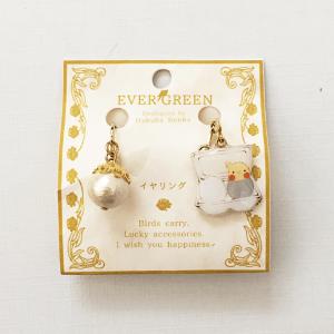 卵パックイヤリング(オカメインコ / ノーマル)
