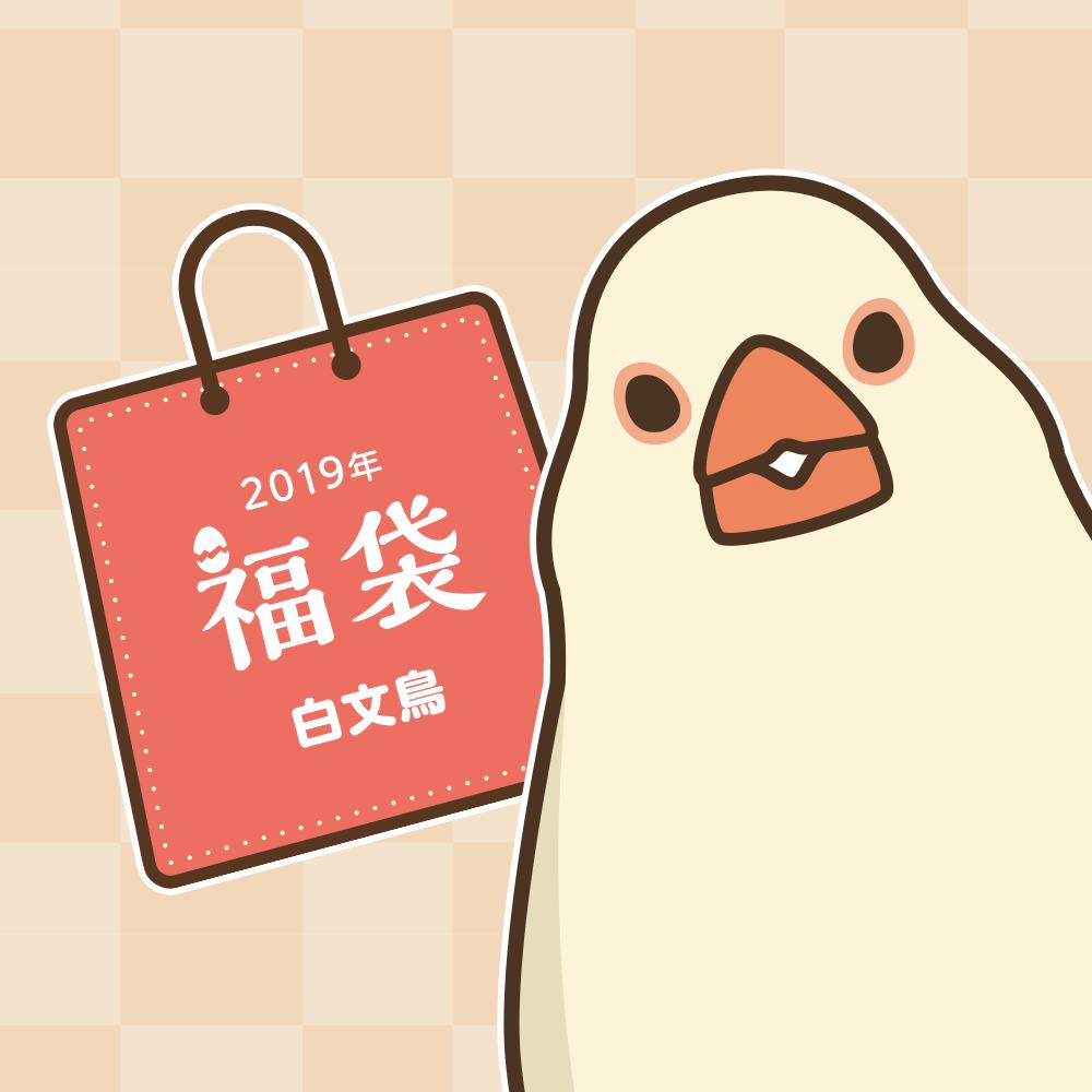 BIRDSTORY福袋 2019(白文鳥)