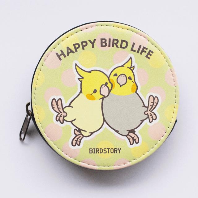 コインケース(HAPPY BIRD LIFE / オカメインコ)