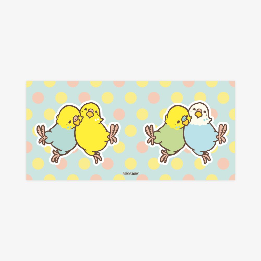 マグカップ(HAPPY BIRD LIFE / セキセイインコ)