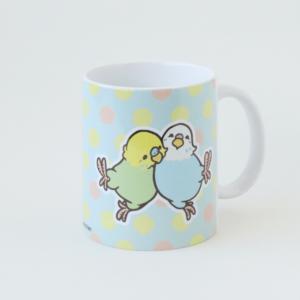 マグカップ HAPPY BIRD LIFE セキセイインコ BIRDSTORY