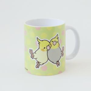 マグカップ HAPPY BIRD LIFE オカメインコ バードストーリー