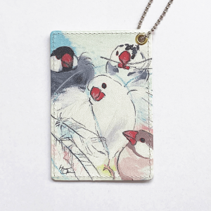 パスケース(オクムラミチヨ / Angel -文鳥-)