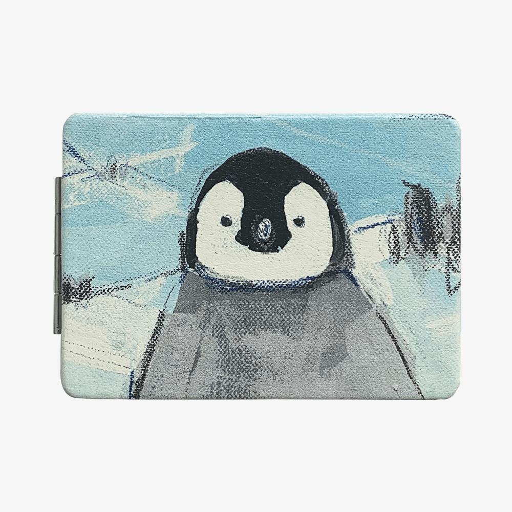 折りたたみミラー(オクムラミチヨ / ペンギン)