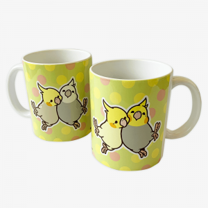 マグカップ(HAPPY BIRD LIFE / オカメインコ)