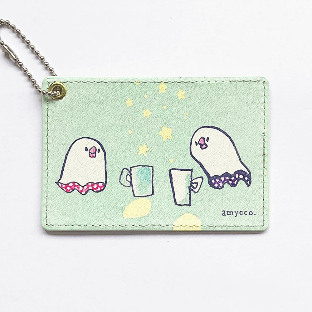 パスケース(amycco. / tea party)