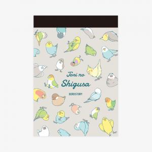 メモ帳(TORINOSHIGUSA / パターン)