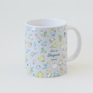 鳥のしぐさ TORI NO SHIGUSA イラスト マグカップ BIRDSTORY