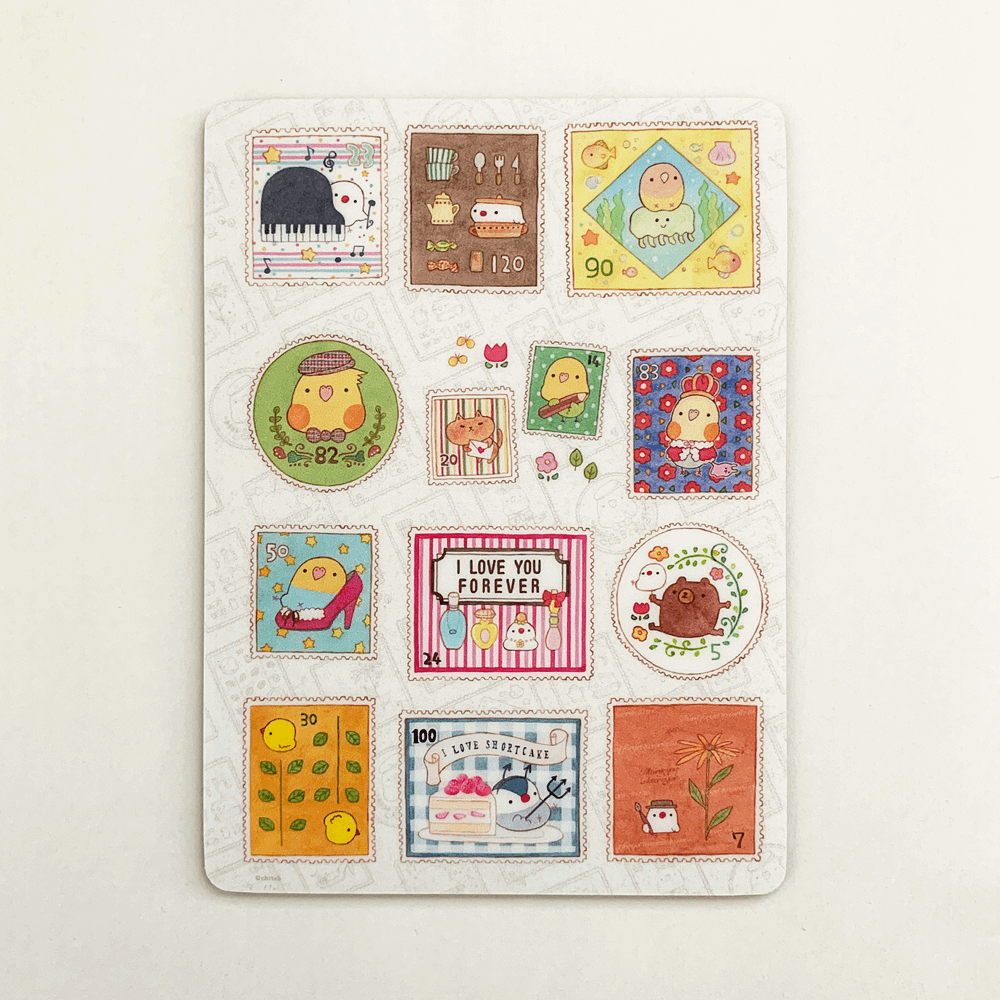 chitch マウスパッド(stamps)