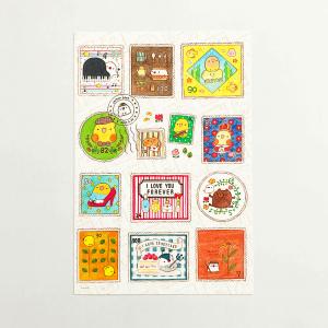 chitch ポストカード(stamps)