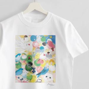 Tシャツ Paradise オクムラミチヨ