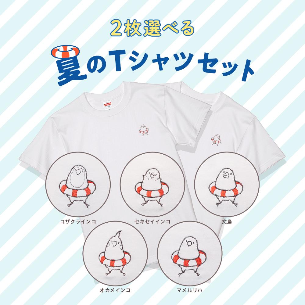Tシャツを2枚選べる 夏のTシャツ福袋 2019 うきわ 浮き輪