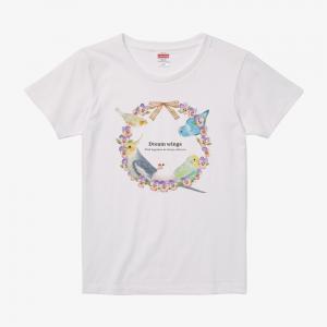 Tシャツ(文鳥院まめぞう / 夢想の羽)