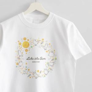 Tシャツ 月と太陽 セキセイインコ オカメインコ