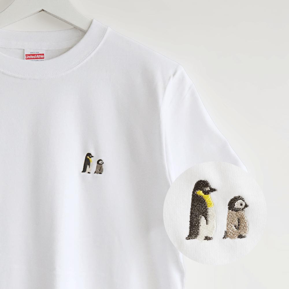 刺繍Tシャツ(BIRD!BIRD!BIRD! / ペンギン)