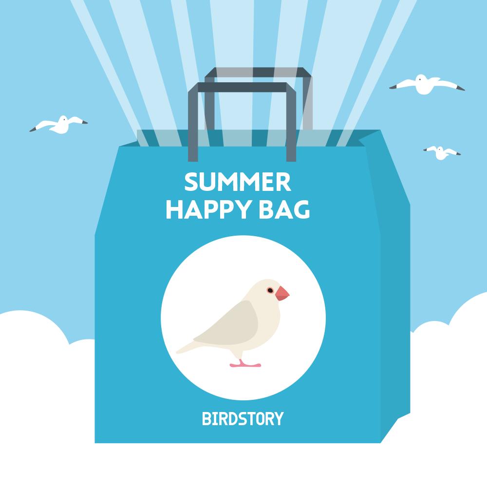 サマーハッピーバッグ 夏の福袋 BIRDSTORY ブンチョウ