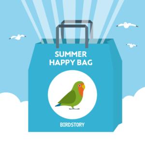 サマーハッピーバッグ 夏の福袋 BIRDSTORY コザクラインコ