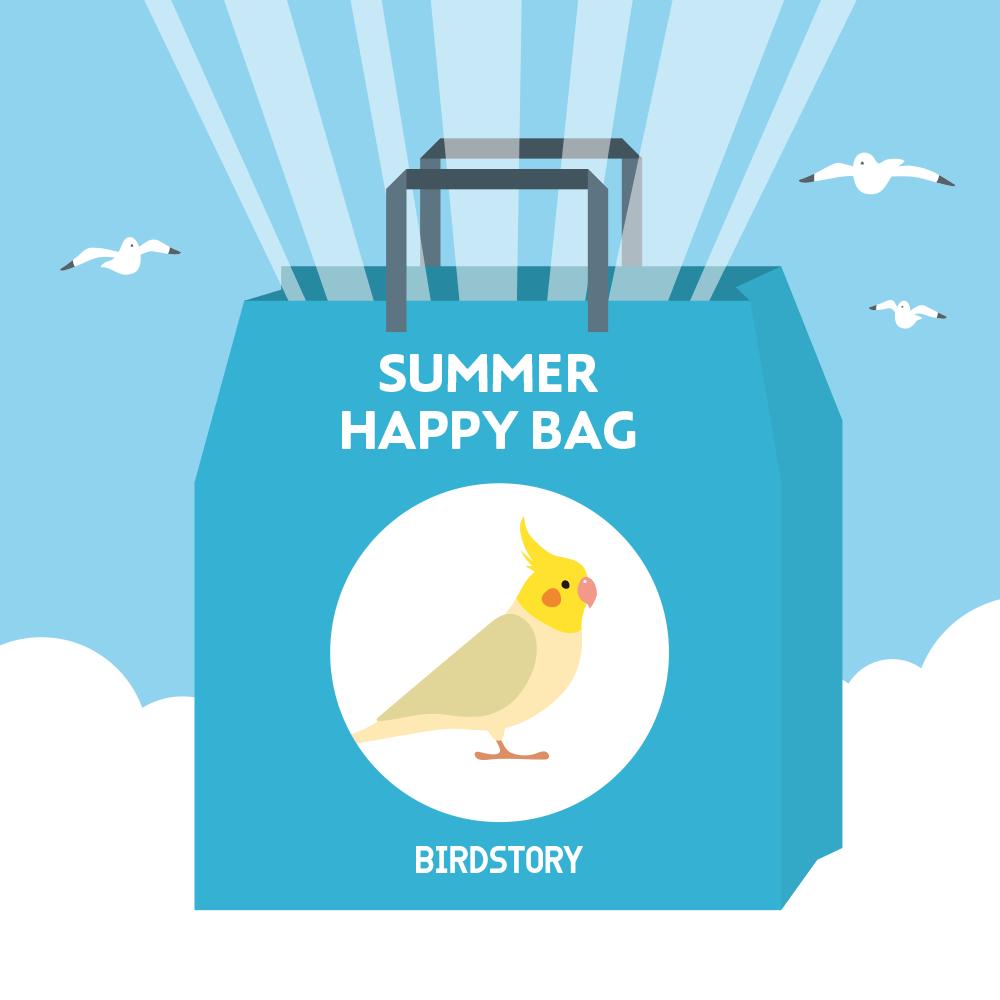 サマーハッピーバッグ 夏の福袋 BIRDSTORY オカメインコ