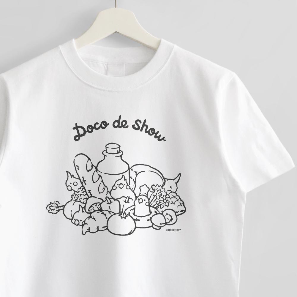Tシャツ オカメインコのかくれんぼ