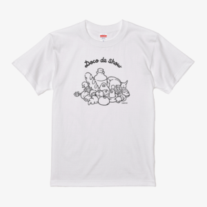 Tシャツ(Doco de show / 文鳥)