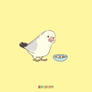 米の日 イラスト 文鳥 ライスバード ricebird